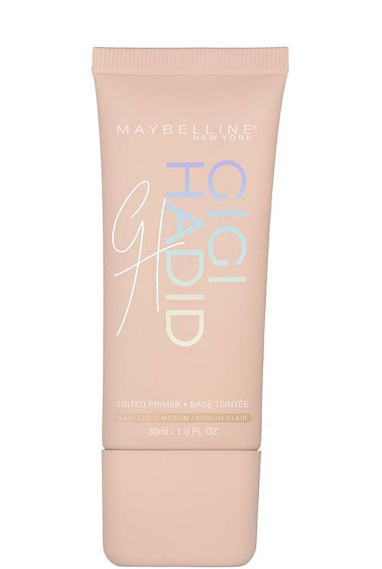 Maybelline Gigi Hadid Tinted Primer New York Glam Look