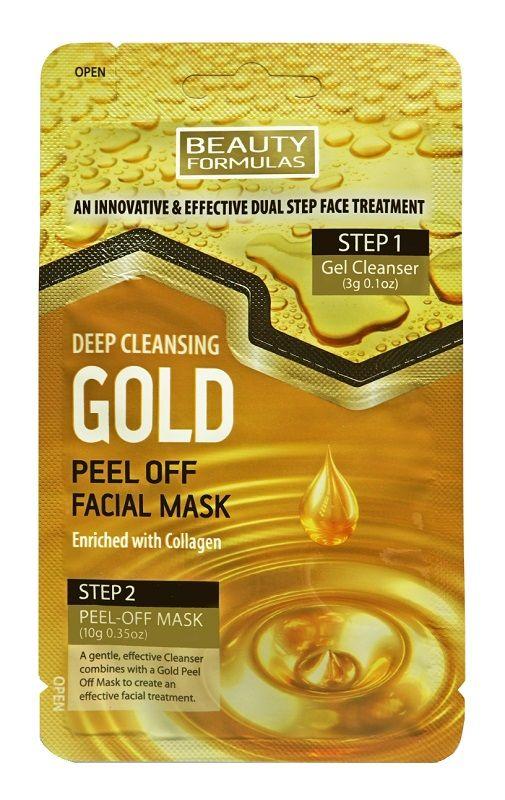 Beauty Formulas Gold Oczyszczająca