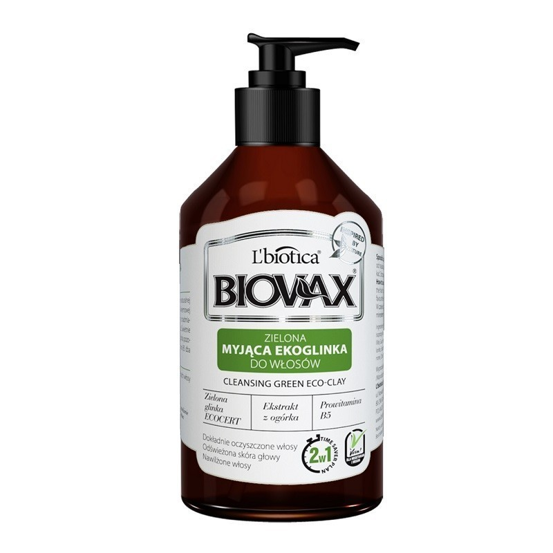 Biovax Cleansing Green Eco-Clay