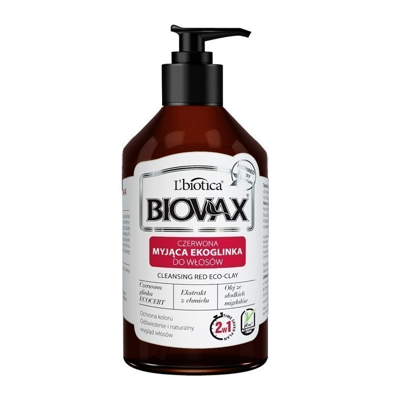 Biovax Cleansing Red Eco-Clay