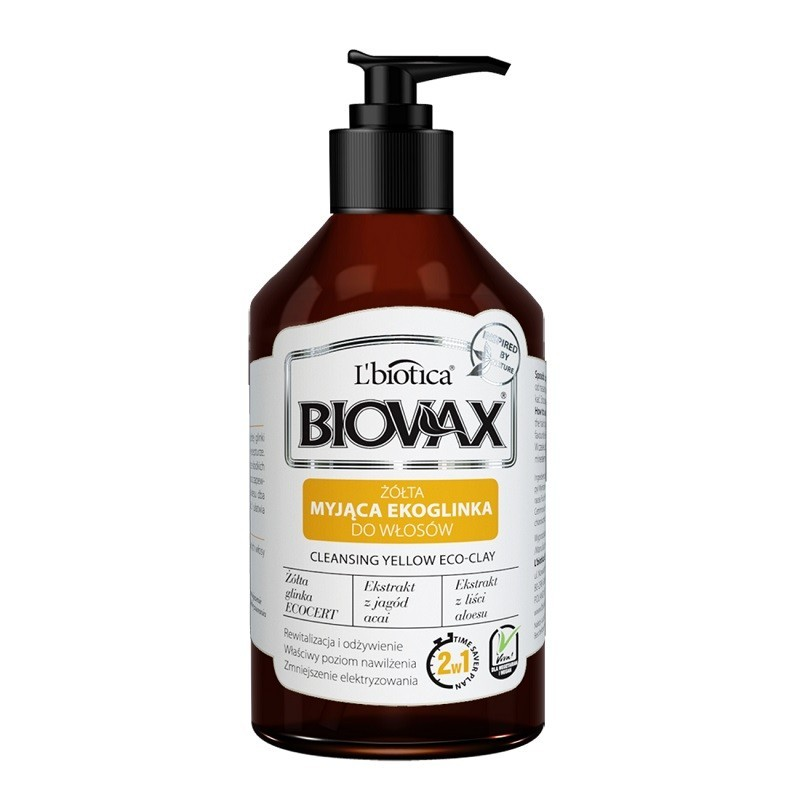 Biovax Cleansing Yellow Eco-Clay