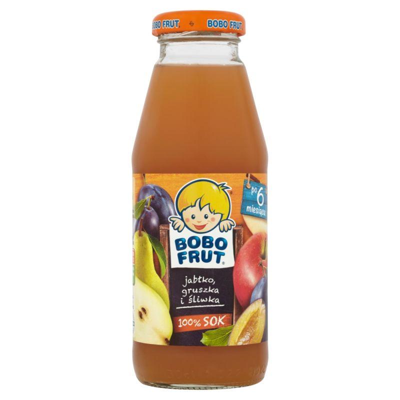 Bobo Frut Jabłko-Gruszka-Śliwka