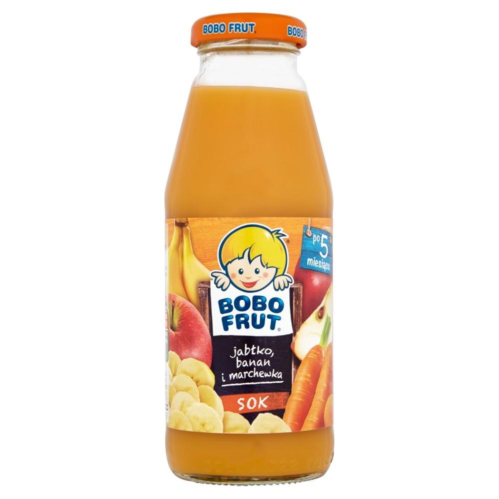 Bobo Frut Jabłko-Banan-Marchewka