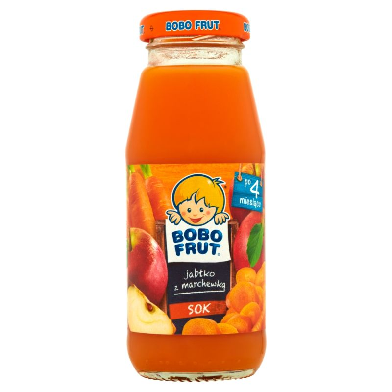 Bobo Frut Jabłko z Marchewką