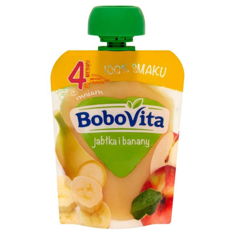 Bobovita Jabłka i Banany