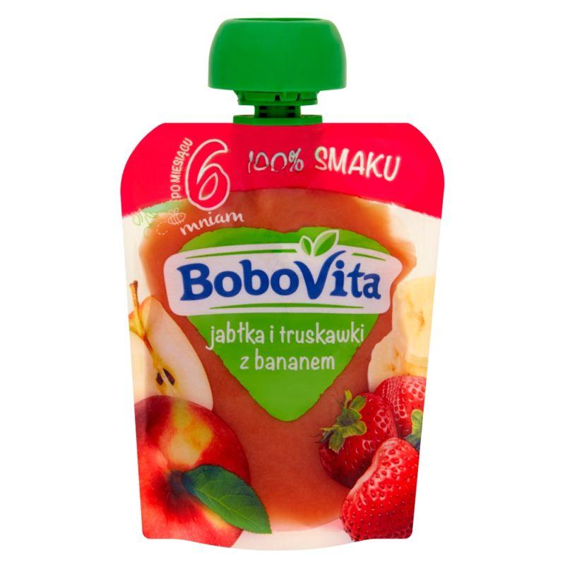 Bobovita Jabłka i Truskawki z Bananem