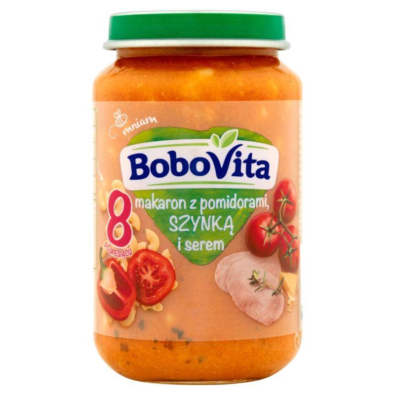 Bobovita Makaron z Pomidorami, Szynką i Serem