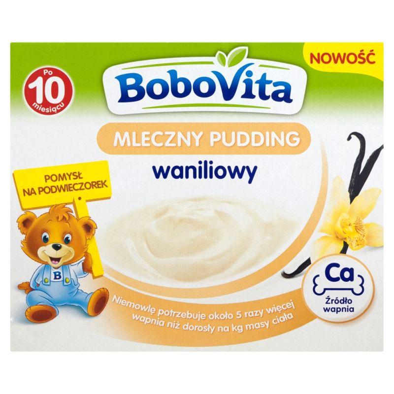 Bobovita Mleczny Pudding Waniliowy