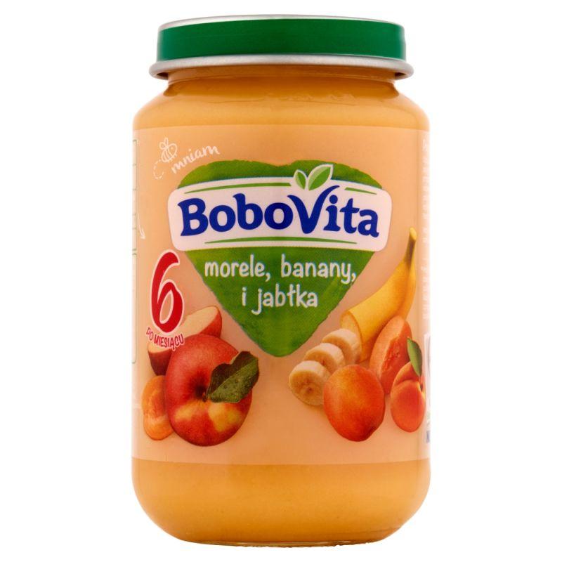 Bobovita Morele, Banany i Jabłka