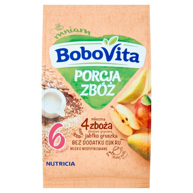 Bobovita Porcja Zbóż 4 Zboża Jabłko-Gruszka