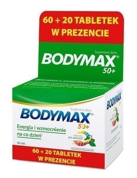 Bodymax 50+ XMASS