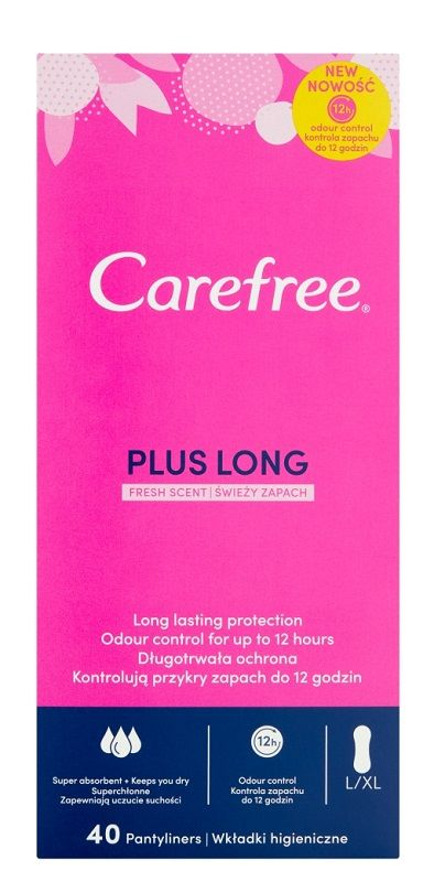 Carefree Plus Long Fresh