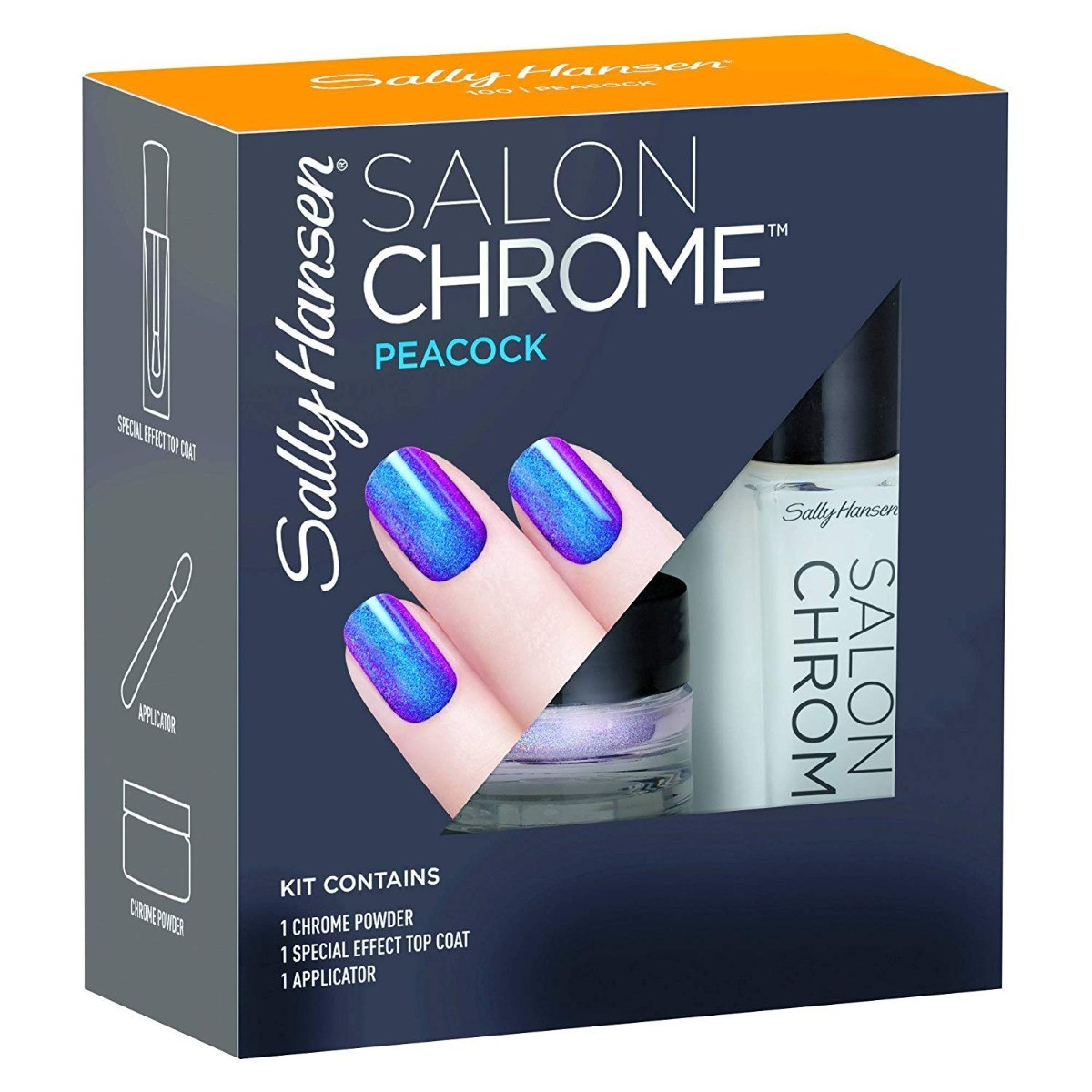 Sally Hansen Trend Chrome Peacock
