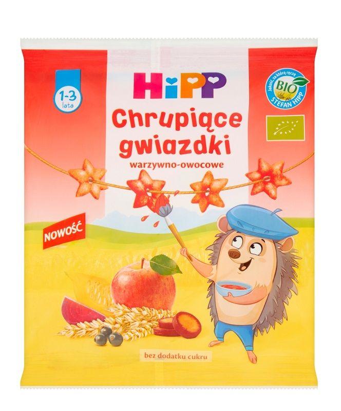 Hipp Chrupiące Gwiazdki Warzywno-Owocowe Bio