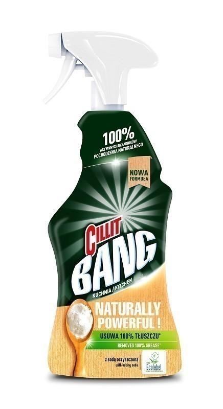 Cillit Bang Naturally Powerful Kuchnia