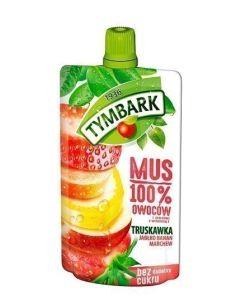 Tymbark Mus 100% Owoców Truskawka