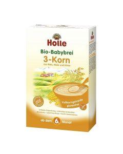 Holle Kaszka 3-Zboża Pełnoziarnista Bio