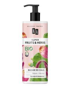 AA Super Fruits & Herbs Opuncja i Amarantus