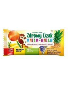Zdrowy Lizak Mniam-Mniam Ananas 1 Sztuka