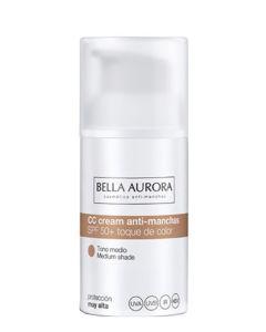 Bella Aurora CC Cream Anti-Dark Spots Medium SPF50+