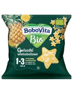 Bobovita Bio Gwiazdki Wielozbożowe Ananasowe