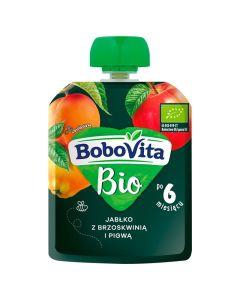 Bobovita Bio Jabłko, Brzoskwinia, Pigwa