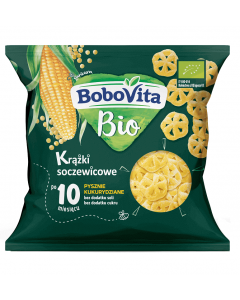 Bobovita Bio Krążki Soczewicowo-Kukurydziane