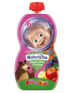 Bobovita Jagody, Jabłka i Banan