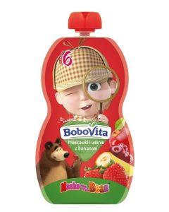 Bobovita Truskawki i Wiśnie z Bananem