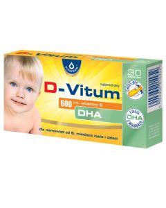 D-Vitum 600 j.m. DHA