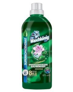 Der Waschkonig Smaragdgrune Sauberkeit