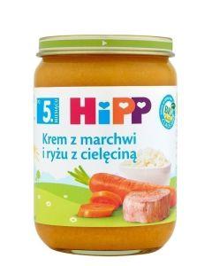 HiPP Bio Marchew i Ryż z Cielęciną