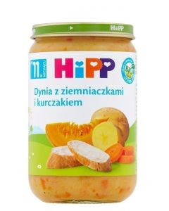 HiPP Dynia z Ziemniaczkami i Kurczakiem Bio