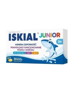 Iskial Junior Kapsułki Do Żucia