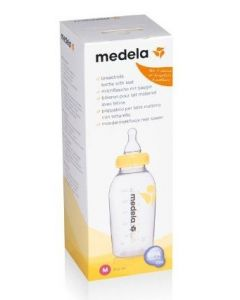 Medela Butelka Ze Smoczkiem Rozmiar M 250 ml 1 szt.