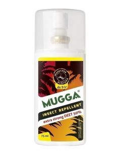 Mugga DEET 50% Spray na komary