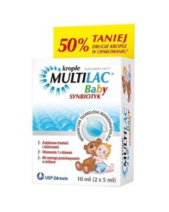 Multilac Baby Krople  2x5ml PROMOPACK