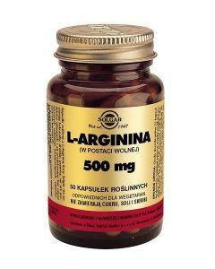Solgar L-Arginina 500mg