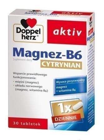 Doppelherz aktiv Magnez B6 cytrynian