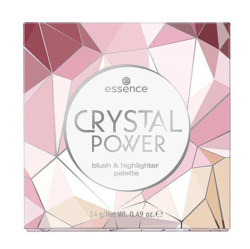 Essence Crystal Power Blush&Highlighter