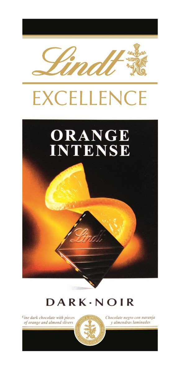 Lindt Excellence Orange Intense XMASS