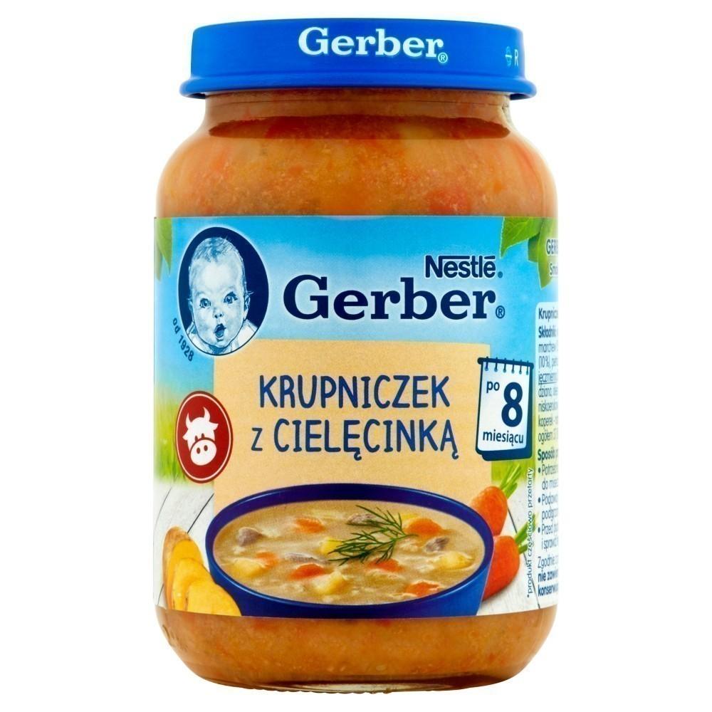 Gerber Krupniczek z Cielęcinką