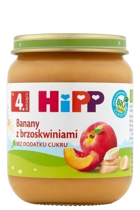 Hipp Banany z Brzoskwiniami