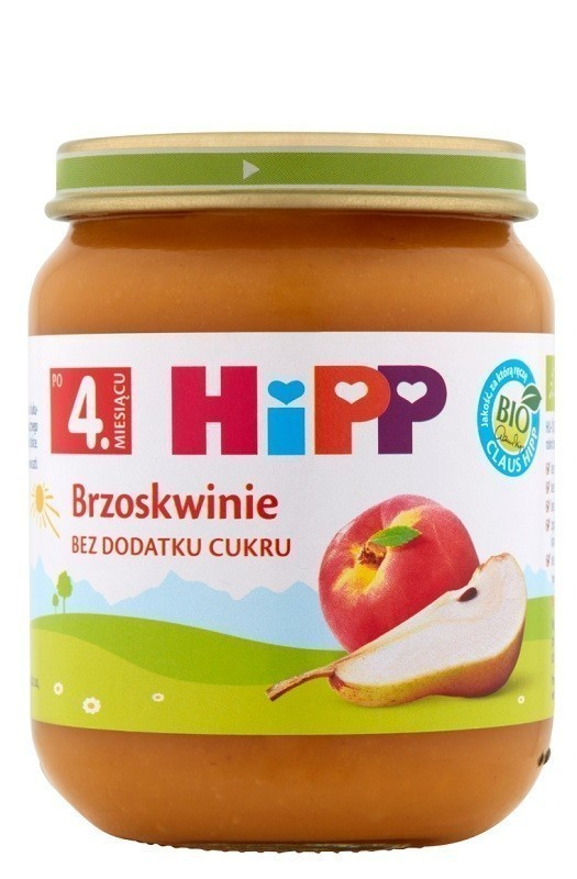 Hipp Brzoskwinie