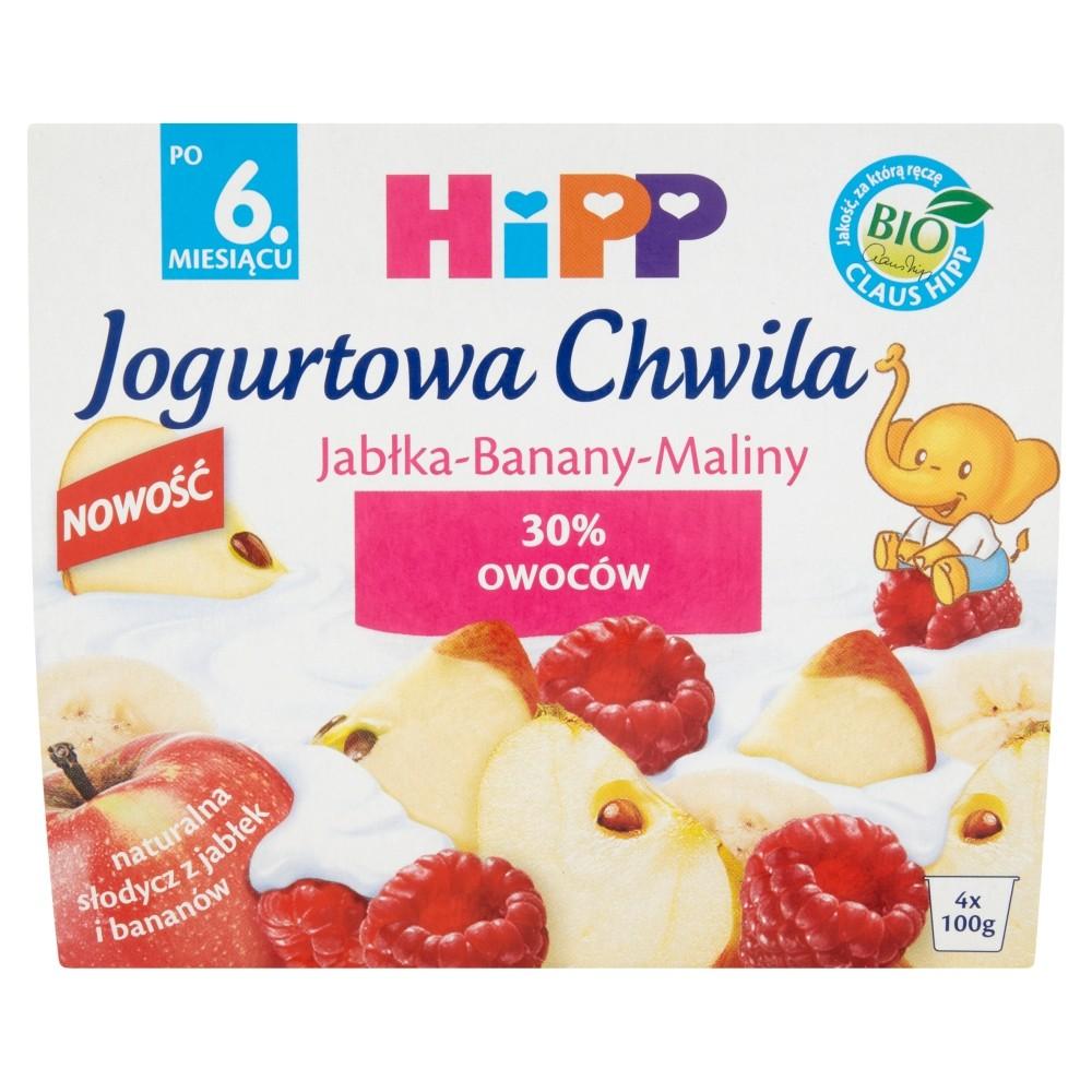 Hipp Jabłka-Banany-Maliny - Bio