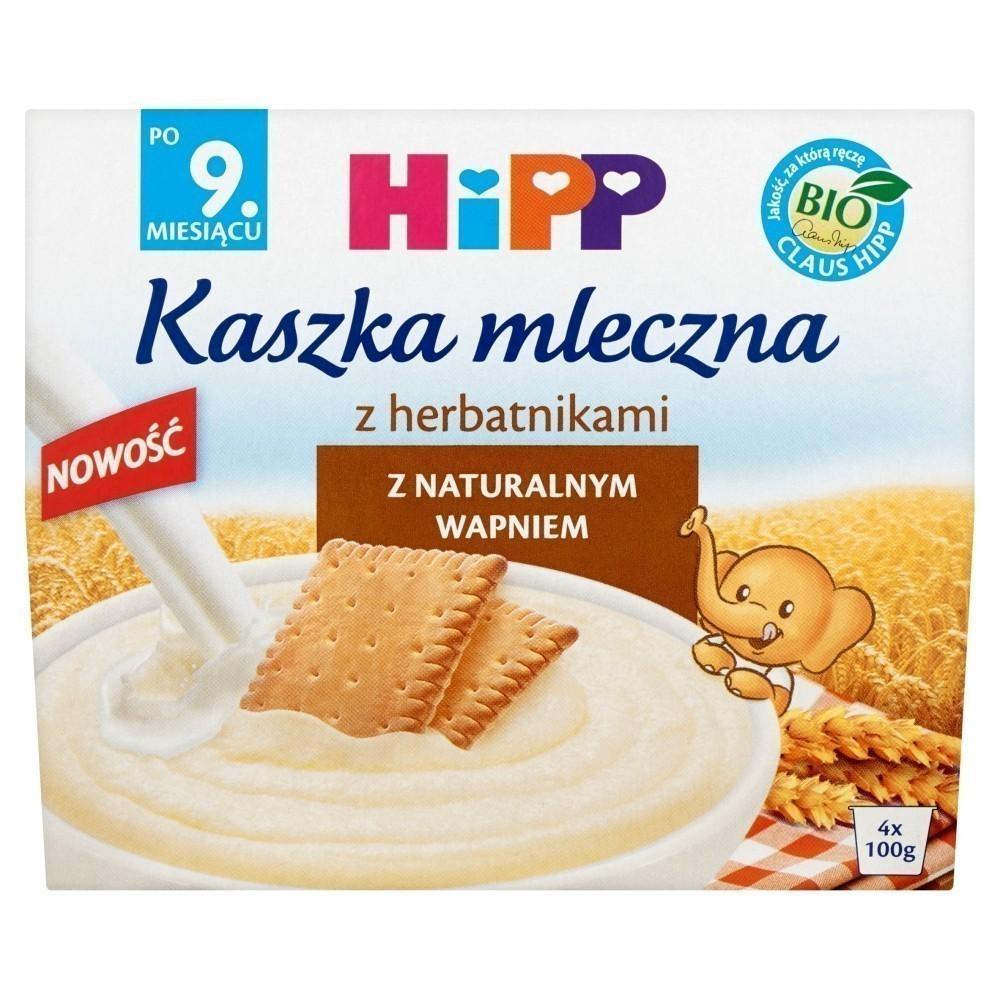 Hipp Kaszka Mleczna z Herbatnikami - Bio