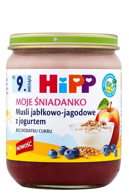 Hipp Moje Śniadanko Musli Jabłkowo-Jagodowe z Jogurtem Bio
