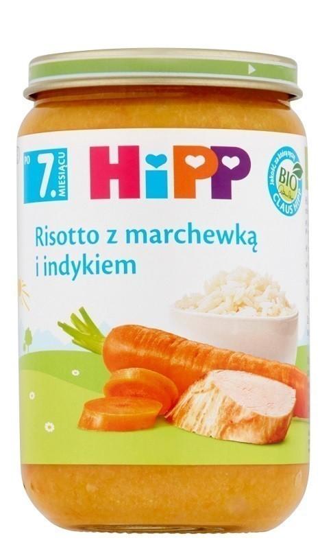 Hipp Risotto z Marchewką i Indykiem