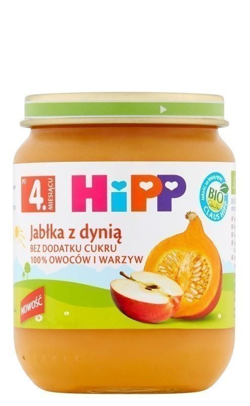 HiPP Jabłka z Dynią Bio