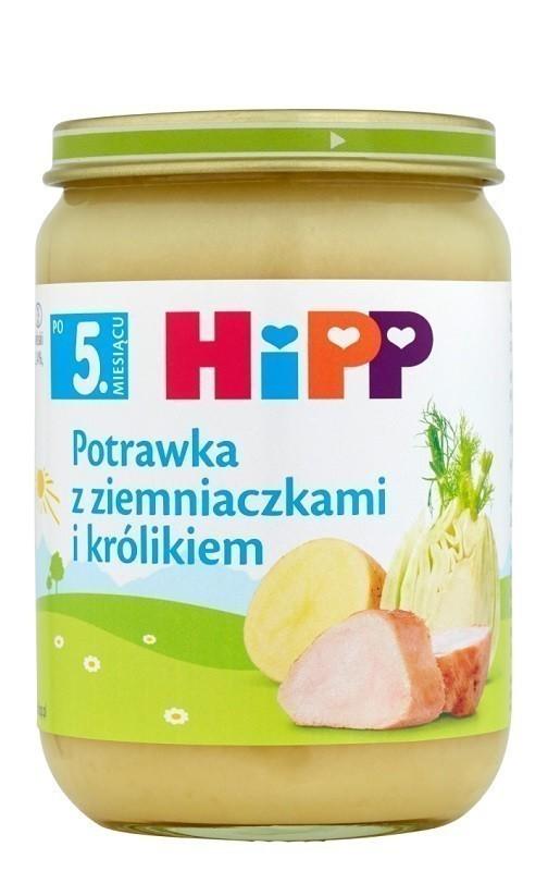 Hipp Potrawka z Ziemniaczkami i Królikiem